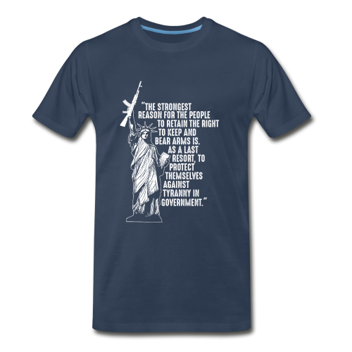 Right To Bear Arms - Men's Premium T-Shirt