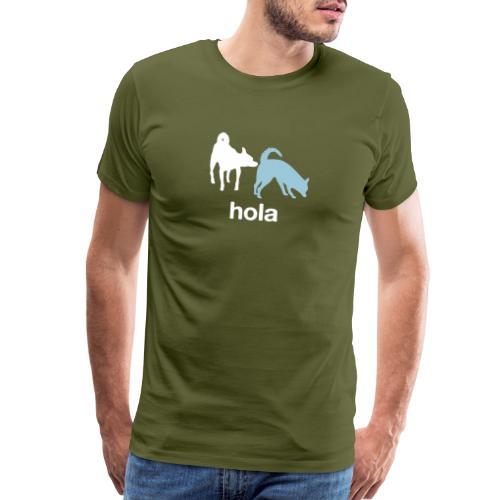 Hola - Men's Premium T-Shirt