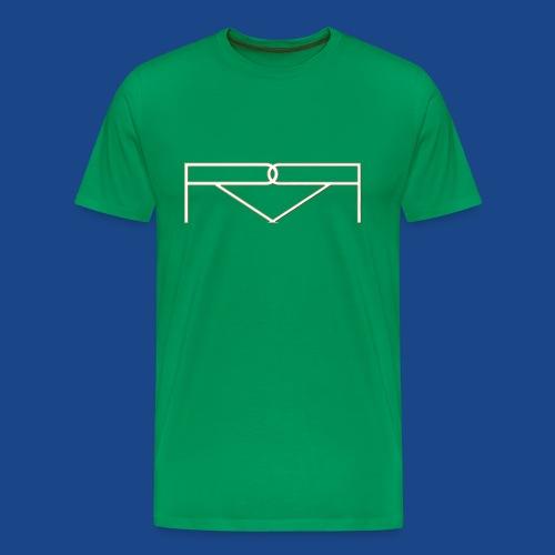 ronald renee gold 5 png - Men's Premium T-Shirt
