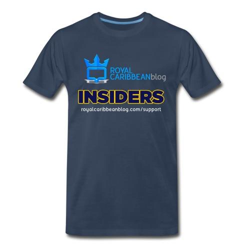 insider-back - Men's Premium T-Shirt