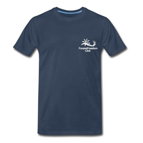 logo_FFClub_new1white - Men's Premium T-Shirt