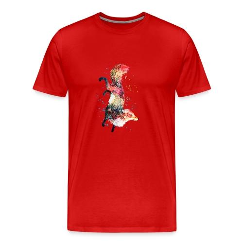 Fox Spirit Animal - Men's Premium T-Shirt