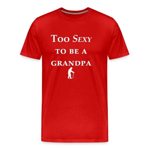 Grandpa Sexy - Men's Premium T-Shirt