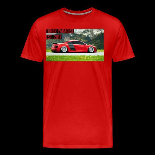 Slammed Audi R8 - Men's Premium T-Shirt