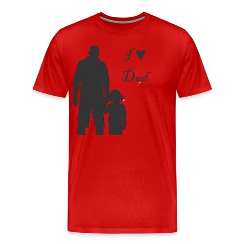 love Dad - Men's Premium T-Shirt