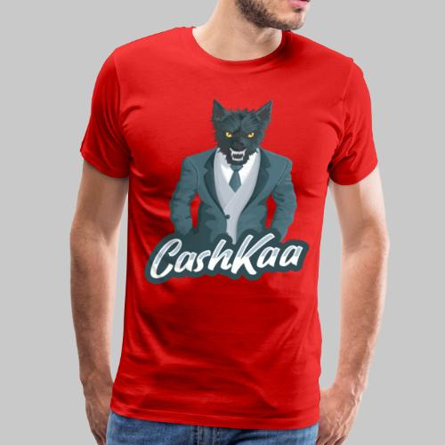 Suited Wolf: CashKaa - Men's Premium T-Shirt