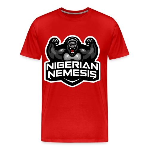 Nigerian Nemesis Gorilla Roar - Men's Premium T-Shirt