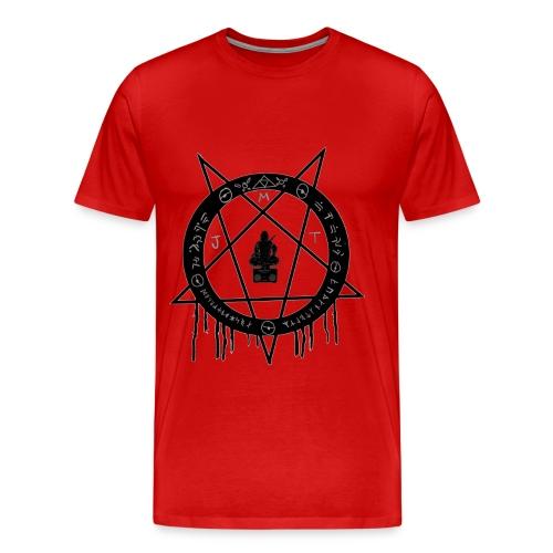 MJT logo Lg Center - Men's Premium T-Shirt