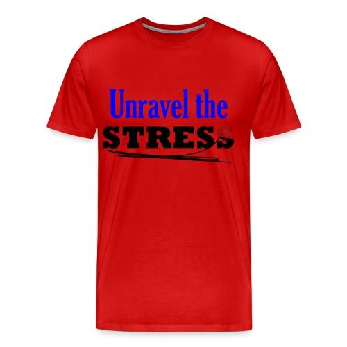 Unravel the Stress - Men's Premium T-Shirt