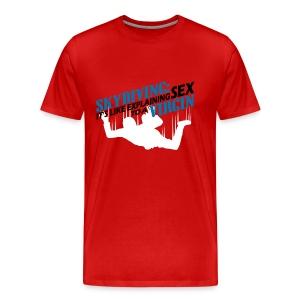 Skydiving - Men's Premium T-Shirt
