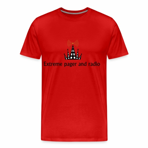 extreme pager and radio - Men's Premium T-Shirt