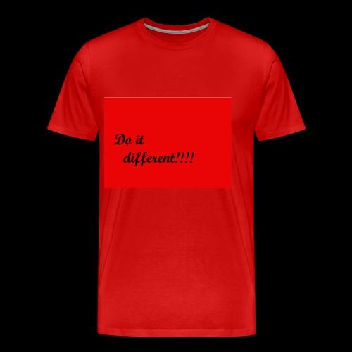 do it different - Men's Premium T-Shirt