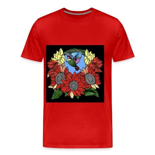 Florals - Men's Premium T-Shirt
