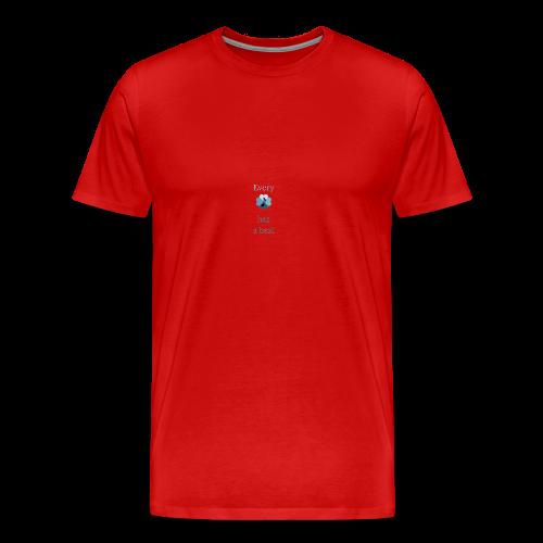 every heart has a beat - Men's Premium T-Shirt