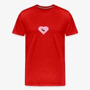 Traa-Tan Pickle Heart - Men's Premium T-Shirt