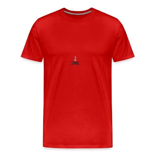 Line deep logo - Men's Premium T-Shirt