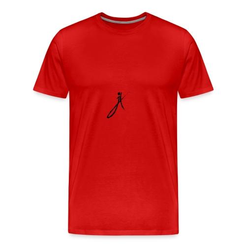 Firma negro - Men's Premium T-Shirt