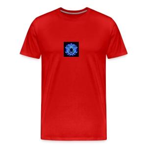 Blue Neon Tiger - Men's Premium T-Shirt