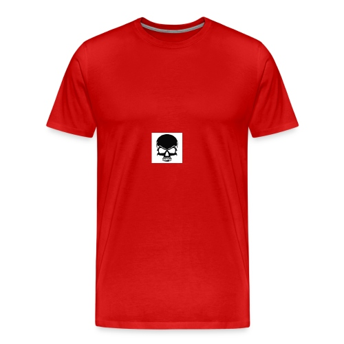 B1DBuy my Merch skull lit must buyyyyyyyyyyyyyyyyy - Men's Premium T-Shirt