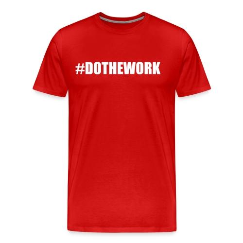 DOTHEWORK TEE - Men's Premium T-Shirt