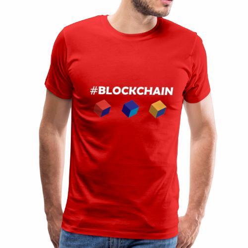 blockchain - Men's Premium T-Shirt