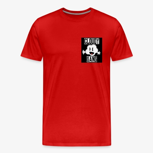 Cloudy Gang (Mens pocket edition) - Men's Premium T-Shirt