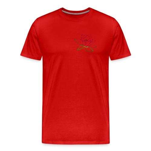 as lotus flower - Men's Premium T-Shirt