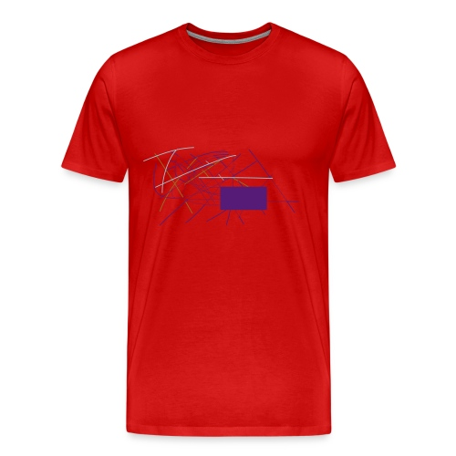 zig zag zig - Men's Premium T-Shirt