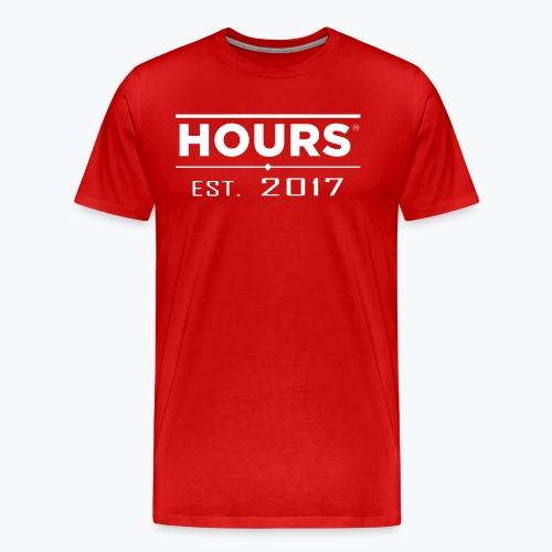Hours DesignHD 5 - Men's Premium T-Shirt