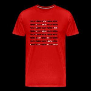 Wuck Fando Word Search Edition - Men's Premium T-Shirt
