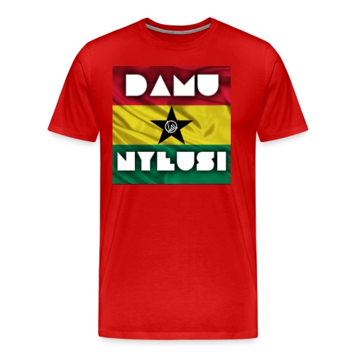 Ghana DAMU NYEUSI - Men's Premium T-Shirt