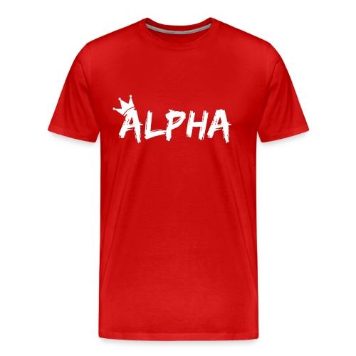 Alpha - Men's Premium T-Shirt