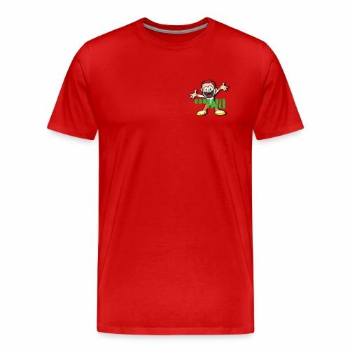 cannabis jones crazy logo - Men's Premium T-Shirt