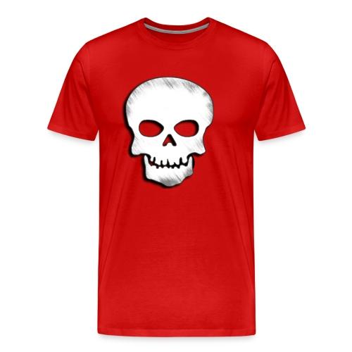 Skull Zone Logo - Men's Premium T-Shirt