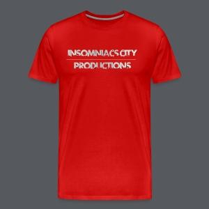 Insomniacs City TEXT 1 - Men's Premium T-Shirt