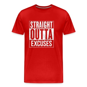 Outta Excuses - Men's Premium T-Shirt
