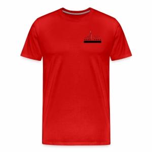 CHICAGO FLAG & SKYLINE - Men's Premium T-Shirt