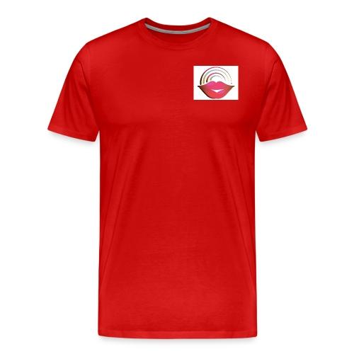 Red Lips - Men's Premium T-Shirt