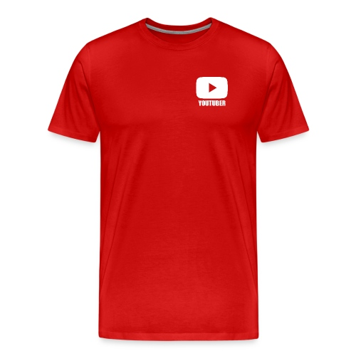Youtuber Shirt - Men's Premium T-Shirt