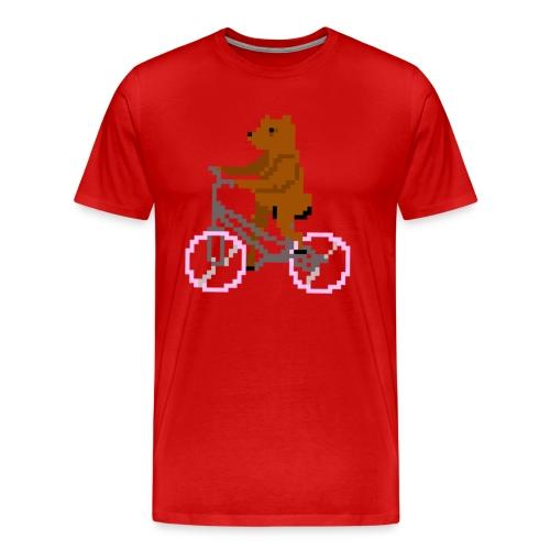 Bear Bike - Men's Premium T-Shirt