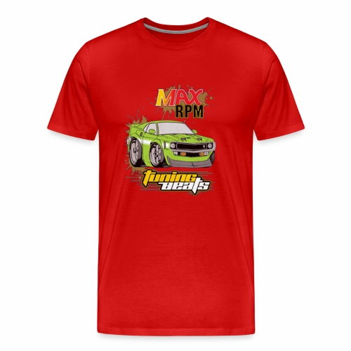 MAX RPM TUNING BEATS - Men's Premium T-Shirt