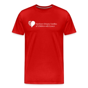 Northern Ontario Families of Children with Cancer - Men's Premium T-Shirt