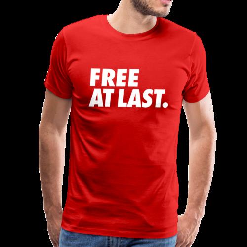 FREE AT LAST - Men's Premium T-Shirt