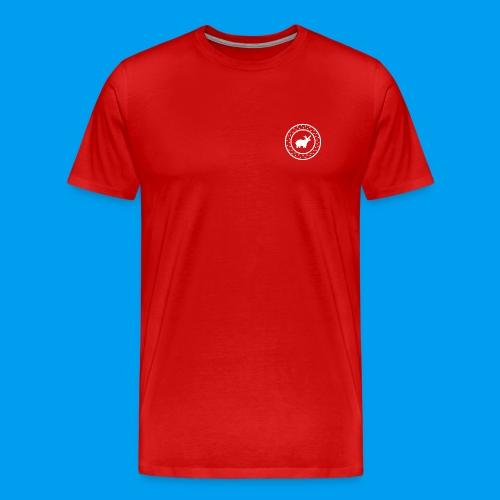 Christmas Deer - Men's Premium T-Shirt
