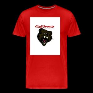 cali bear - Men's Premium T-Shirt
