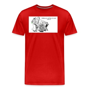 Children are a gift from the Lord-Psalm 127 - Men's Premium T-Shirt