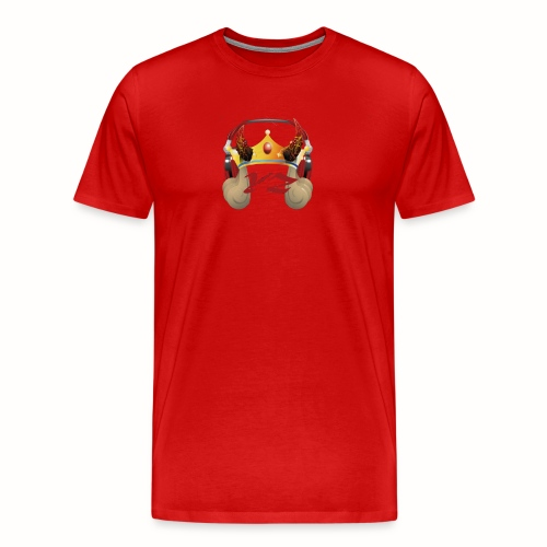 YXNGZAY KING LOGO - Men's Premium T-Shirt