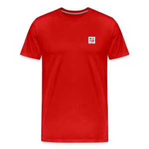 Forza Italia Small Logo - Men's Premium T-Shirt