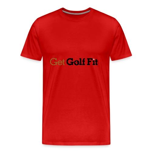 CH GetGolfFit Logo Final Green - Men's Premium T-Shirt