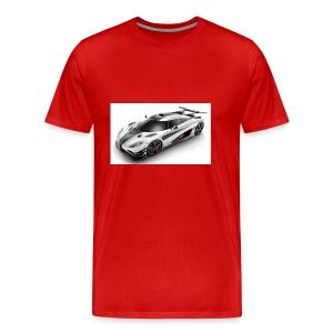koenigsegg cars - Men's Premium T-Shirt
